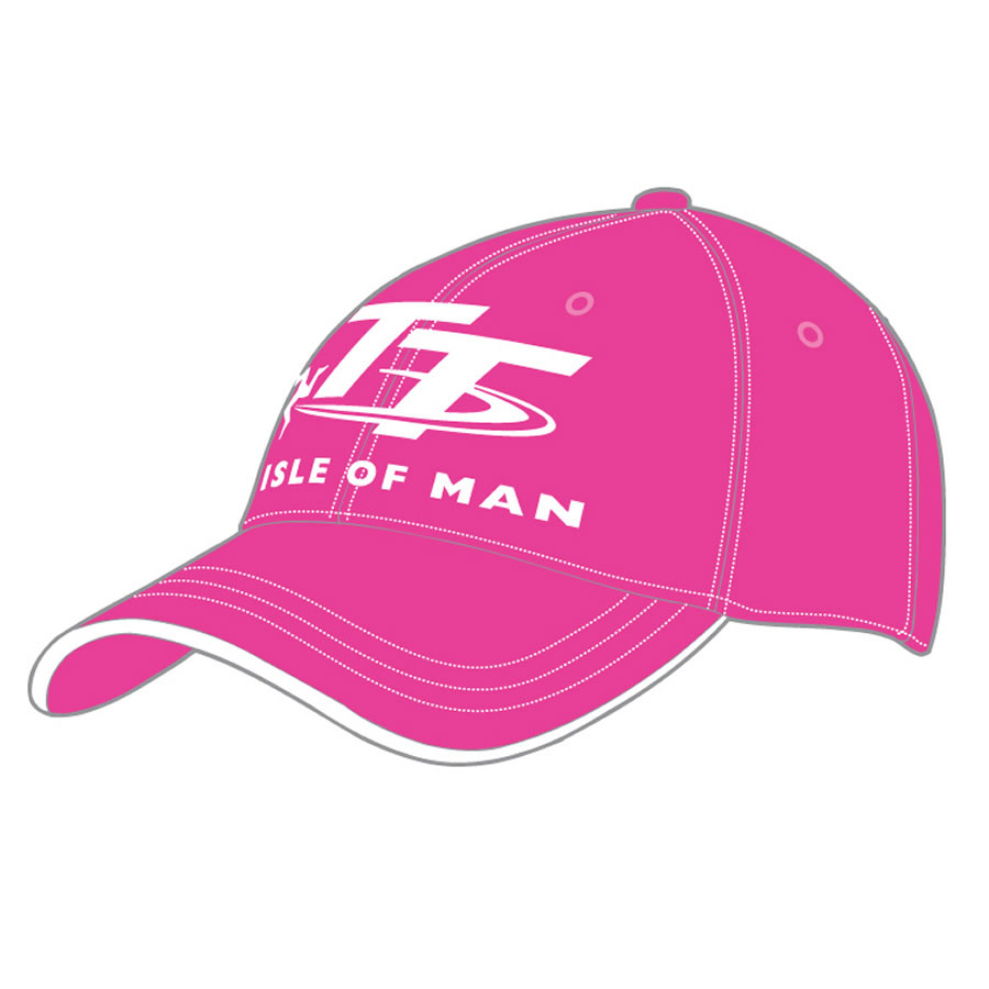 16H6 - Pink and White TT Cap