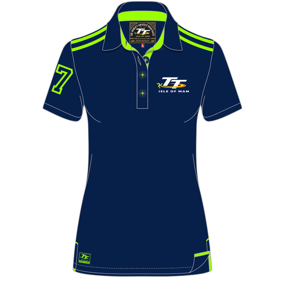 16LP2 - Ladies Polo Shirt