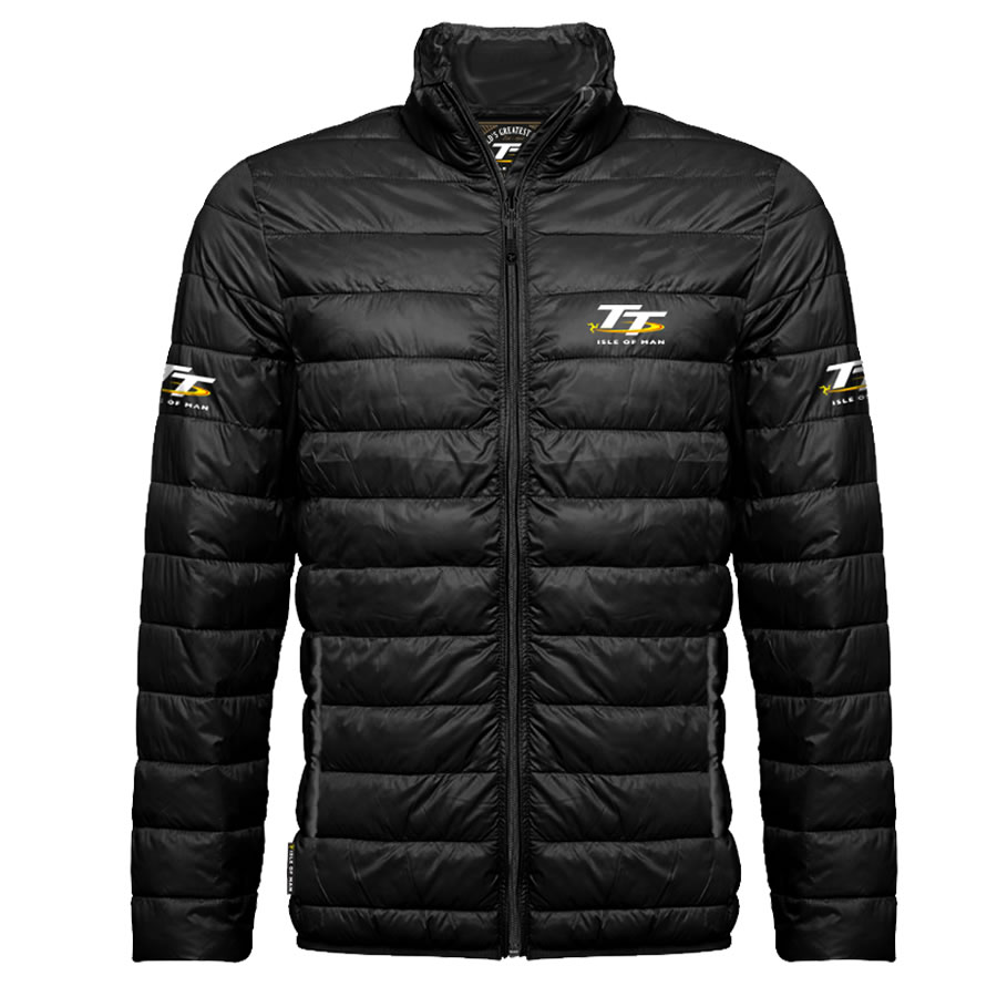 17ARJ1 - Black Ribbed Jacket