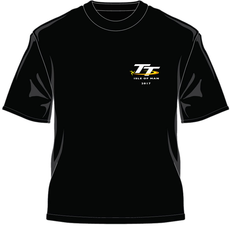 17ATS4 - Black T-Shirt