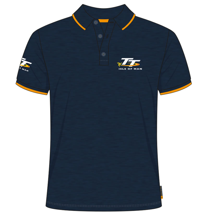 19AP5 - Navy TT Polo Shirt
