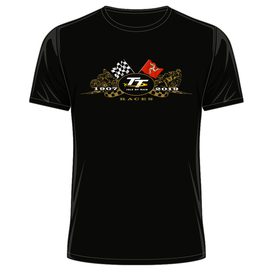 19ATS1 - TT Black T-Shirt