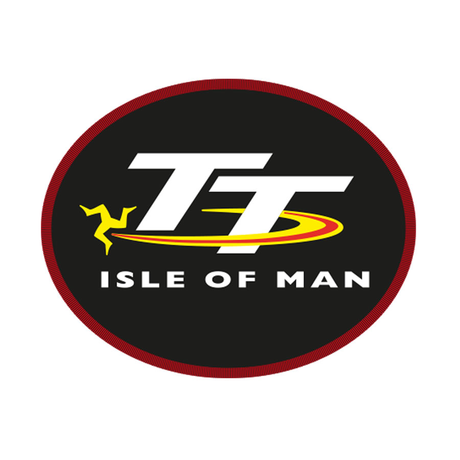 19PATCH2 - Isle of Man TT Oval Patch