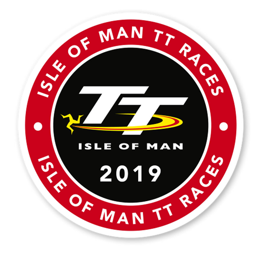9b6730c70 19ST2 - Isle of Man TT 2019 Large Sticker. Tap to expand. Official TT  Merchandise