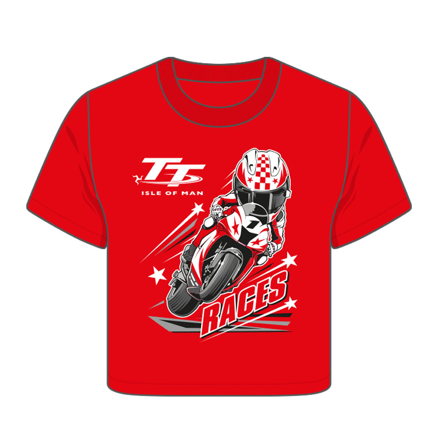 6bf4b746f Official Isle of Man TT Baby Red T-Shirt