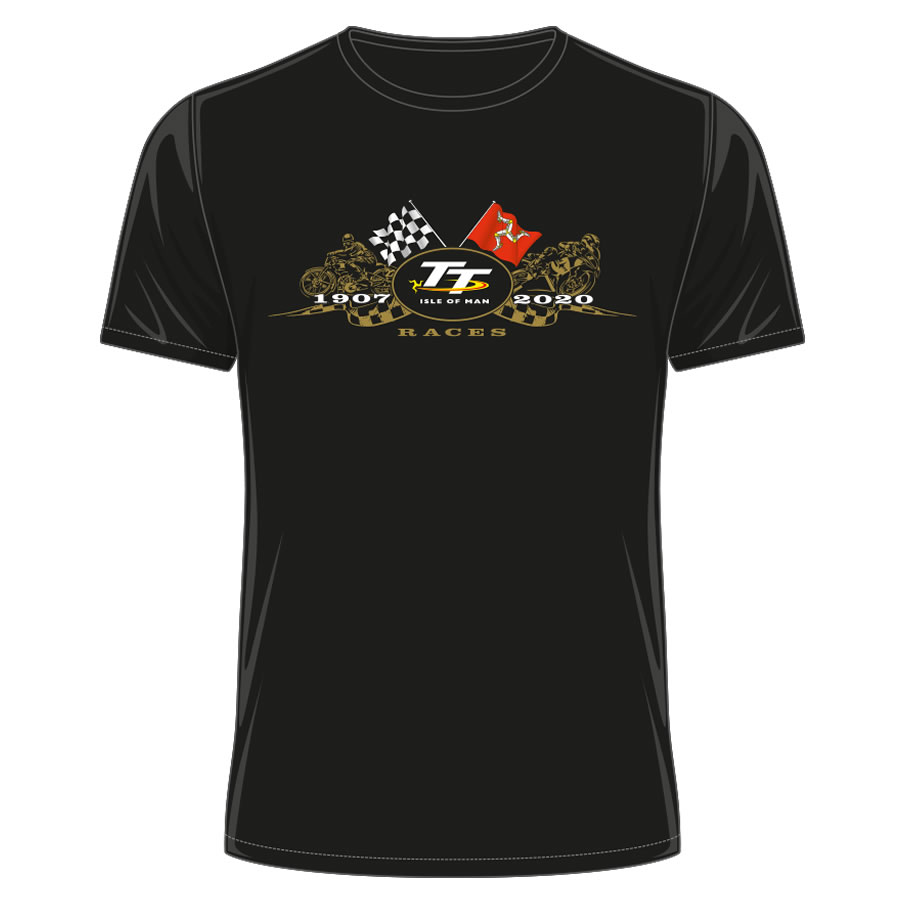 20ATS1 - TT Black T-Shirt