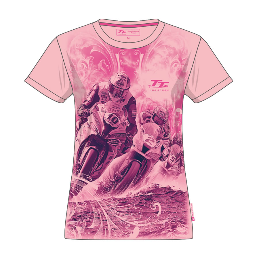 20LTS9 - Ladies Pink T-Shirt