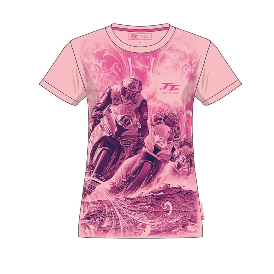20ZKGS9 - Girls Pink T-Shirt