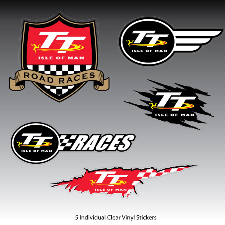 17STICKERSET - Isle of Man Sticker Set